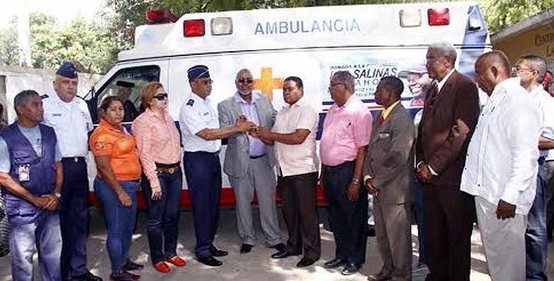 La FARD entregó una ambulancia