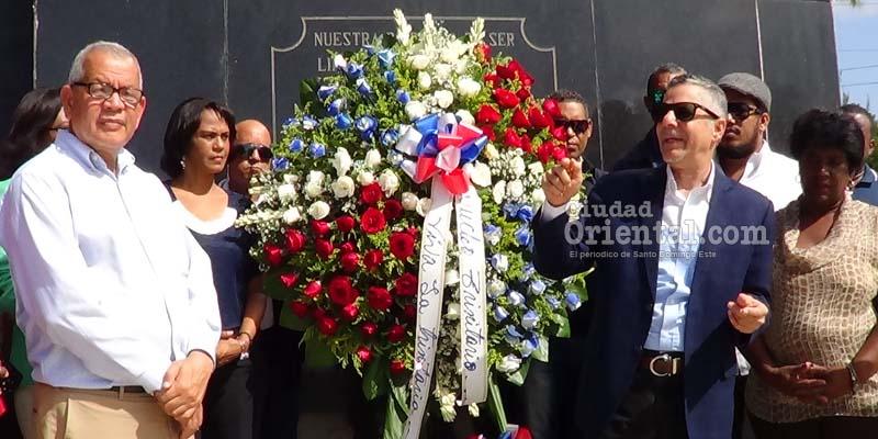 Photo of Vídeo – Manuel Jiménez insta  juventud a seguir ejemplo Los Trinitarios