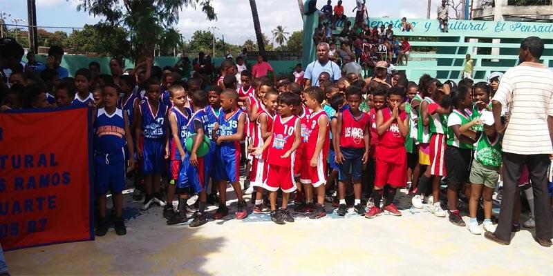 Vista parcial de los participante sen el torneo