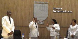 Ana Tejeda toma juramento a Felito Rodríguez
