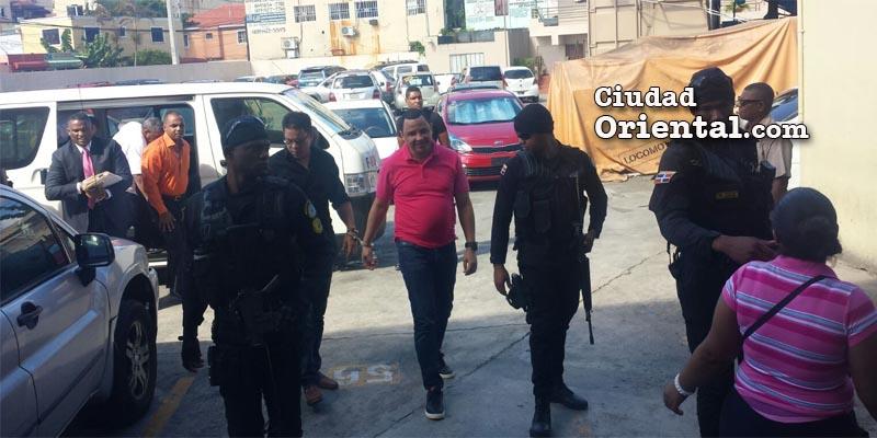 Imputados en el caso Dican son llevados al tribunal