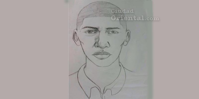 Retrato hablado del presunto asesino del regidor Catalino Sánchez