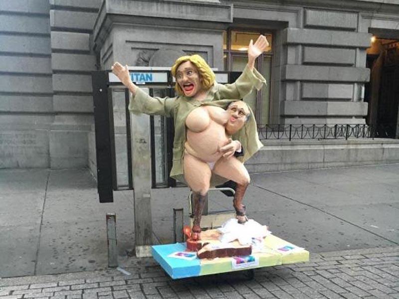 Estatua de Hillary Clinton