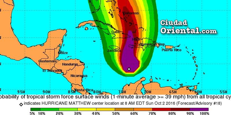 Photo of Provincias del oeste RD bajo aviso de tormenta tropical por Matthew