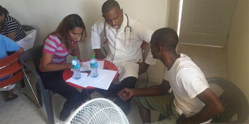 Operativo médico auspiciado por el regidor Ruddy Castro