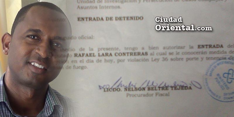 Rafael Lara y la orden de ingreso a la cárcel de San Luis