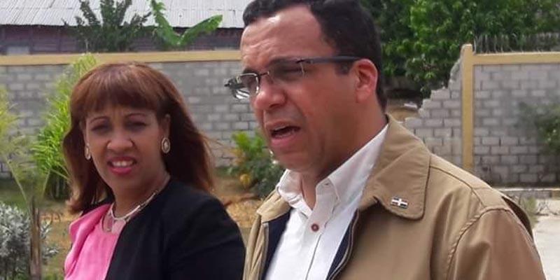 Sobeyda Sánchez y Andrés Navarro García