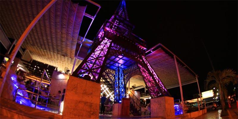Eiffel Lounge en el Ensanche Ozama