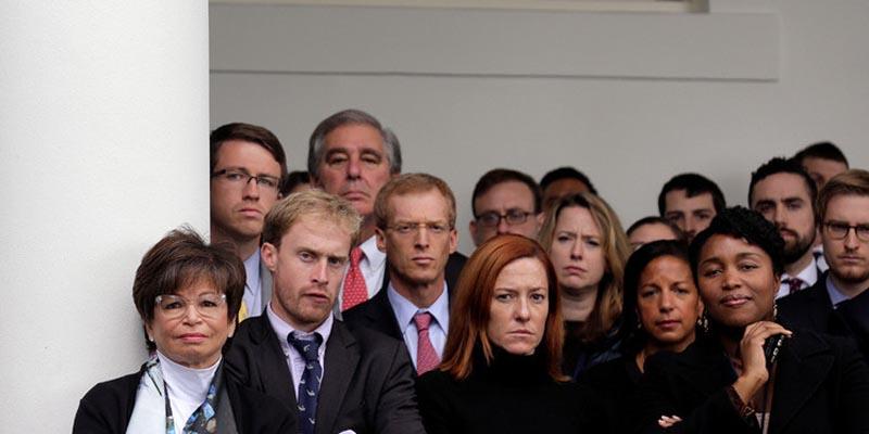 Asi recibieron los funcionarios el discurso de felicitación de Obama a Trump