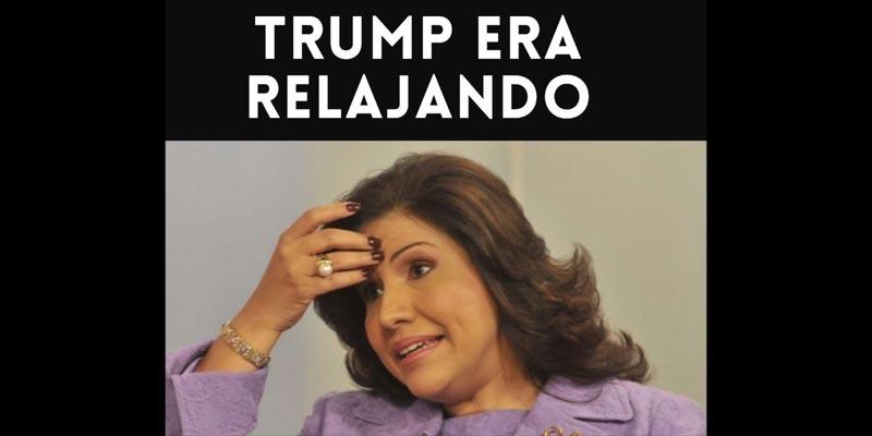 Photo of Comienzan a publicar divertidos memes con Margarita ante ventaja de Trump