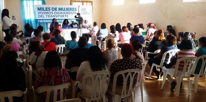 Photo of Coordinadora de Mujeres Transportistas decididas enfrentar pretensiones del CONEP