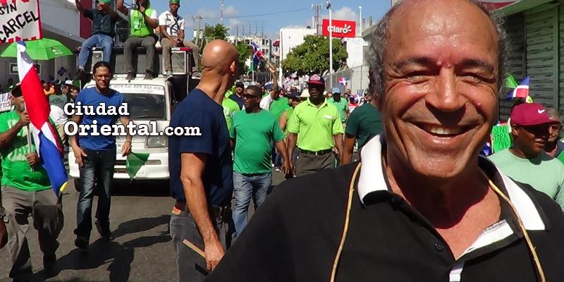 Quilvio Vásquez, presidente de la ATEODOM