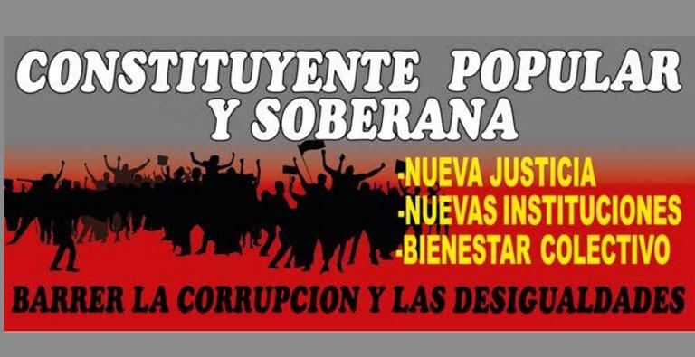 Photo of Constituyente o caos