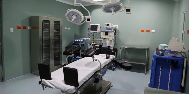 Sala del Hospital de Jánico