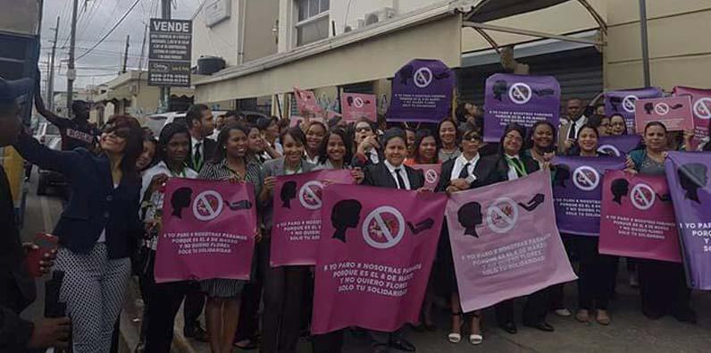 Photo of Igualdad de Género del Poder Judicial realiza parada cívica por Día Internacional de la Mujer