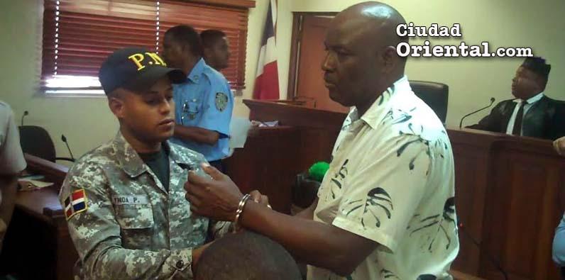 Photo of Video- Condenan hombre dió machetazo a otro en la cabeza por un chip