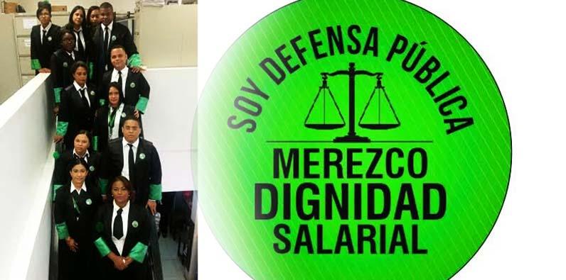 Photo of Abogados Defensoría Pública exigen mejoría salarial
