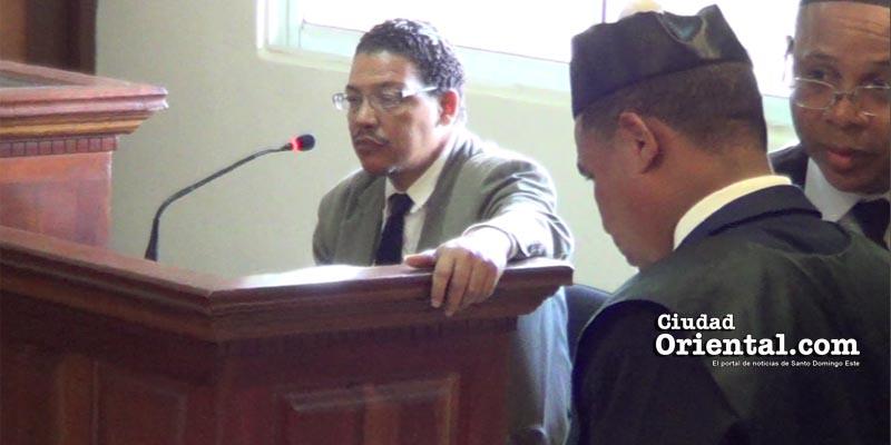 Otto López declara ante el tribunal