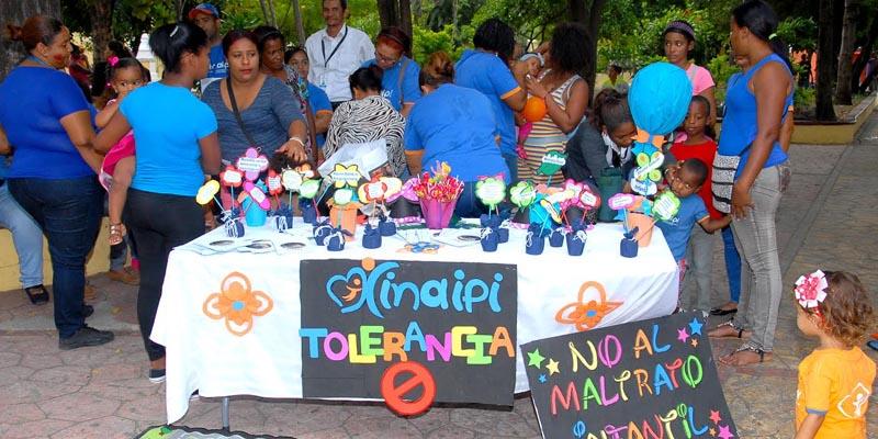 Photo of El INAIPI realiza actividades para prevenir el maltrato infantil