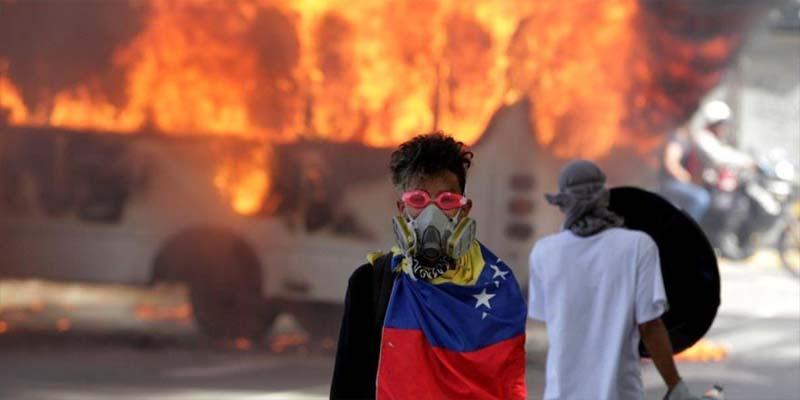 Photo of Policía herido de gravedad en la cabeza por francotirador en marcha de opositores