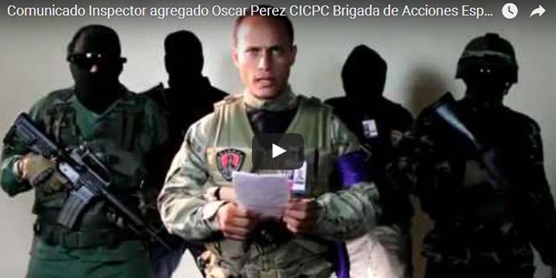 Photo of Así fue el ataque en Venezuela desde un helicoptero robado