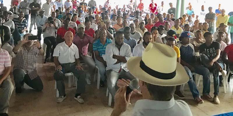 Photo of Hipólito Mejía arrecia proselitismo en el Este del país
