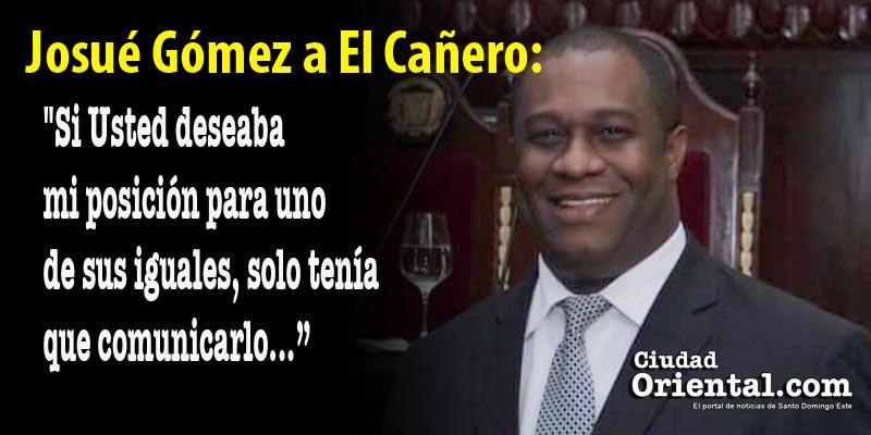 Photo of Josué Gómez renuncia a la Dirección de Espacio Público ASDE