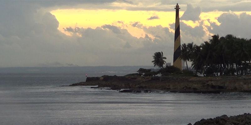 Photo of El mar Caribe, frente a la avenida España: sereno como una piscina + Vídeo