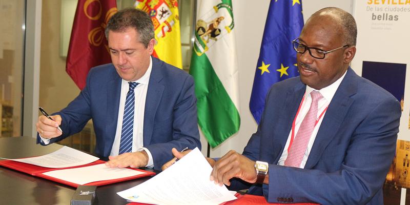 Photo of Alcaldía de SDE y Ayuntamiento de Sevilla firman acuerdo