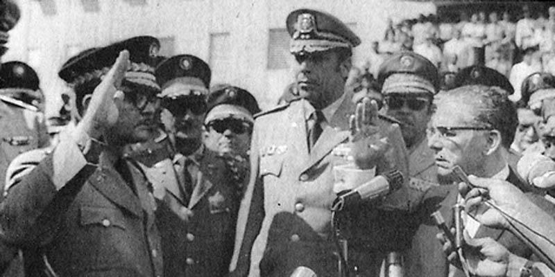 Balaguer y sus generales