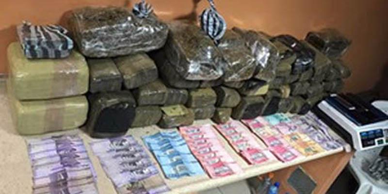 Photo of Policía y ministerio público se incautan de 135.5 libras de marihuana en SDE