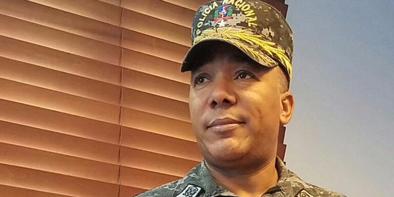 General Jacinto Minaya Herrera, Director de la PN en SDE