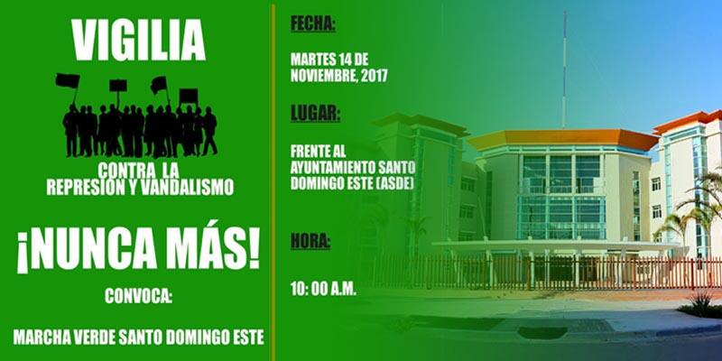 """Photo of Los verdes harán vigilia frente al ASDE contra """"represión"""" y """"vandalismo"""""""