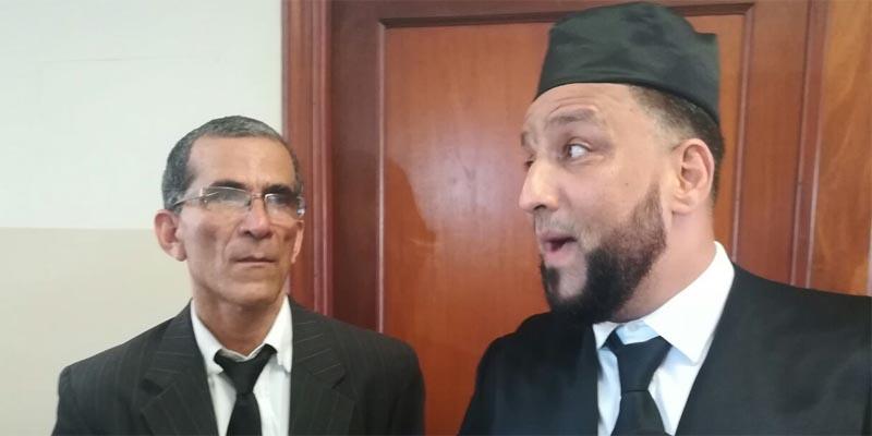 Marcos Reyes y Francisco Medrano, abogados actores civiles de la víctima.