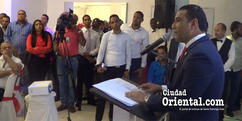 Luis Alberto Tejeda rinde cuentas a sus representados
