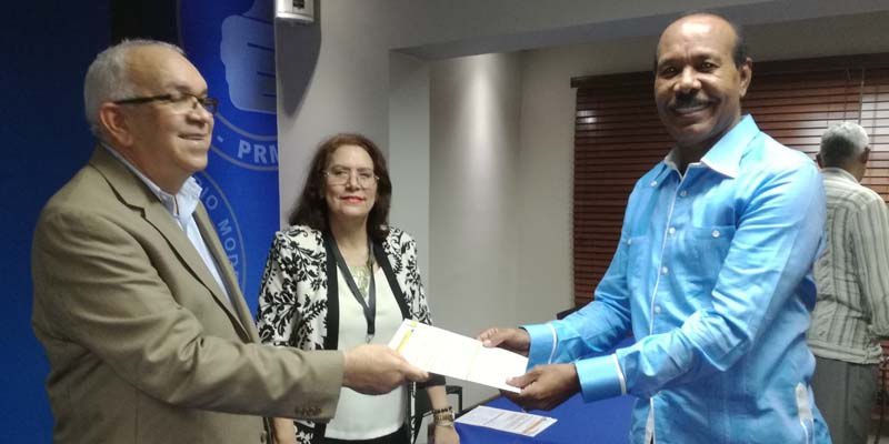 Photo of César Cedeño y José Montas inscribieron sus candidaturas a vicepresidentes del PRM