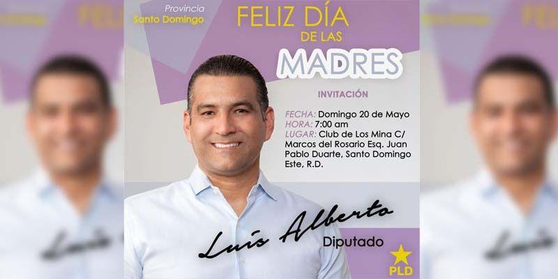 Photo of Luis Alberto celebrará por todo lo alto el Día de las Madres en el Club Los Mina, este domingo