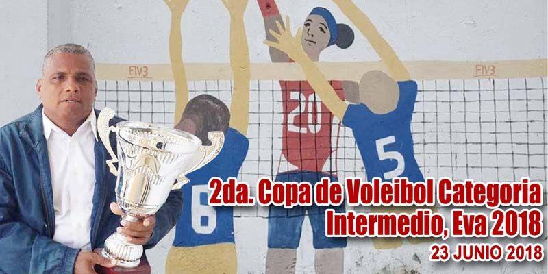 "Photo of Inicia Segunda Copa Voleibol Femenino Intermedio U-15""EVA 2018"""