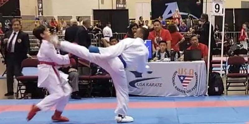 "Photo of El losminero Harlem A. Espinosa Ramos gana oro y se corona ""U.S. National Champion"" en Karate tradicional"