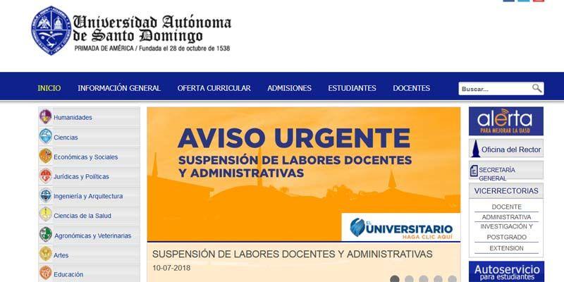 Photo of UASD suspende labores docentes y administrativas por los efectos de Beryl