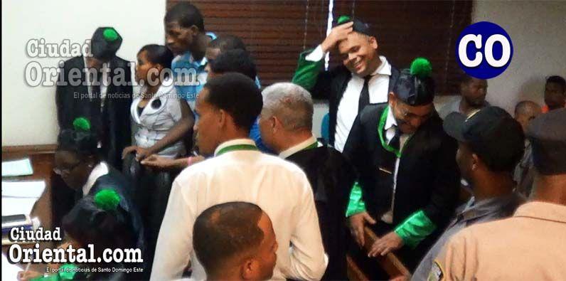 Los liberados fueron asistidos por abogados de la Defensoría Pública