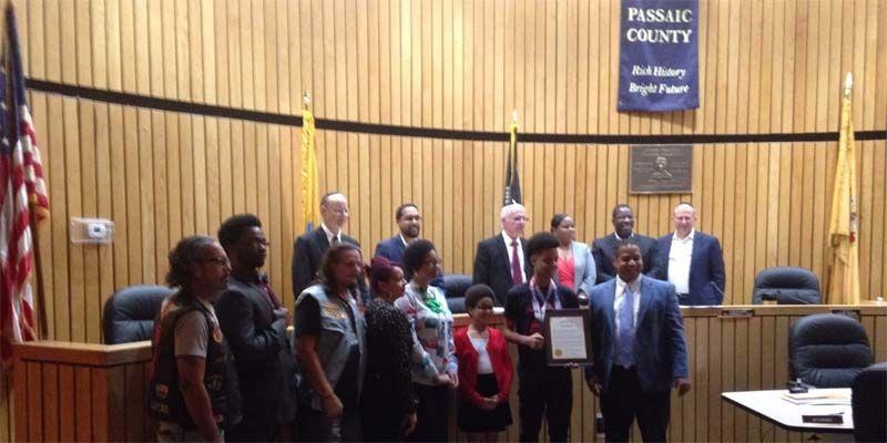 Photo of Karateca de Los Mina es reconocido por la Ciudad de Passaic, NJ, tras coronarse Campeón Nacional USA