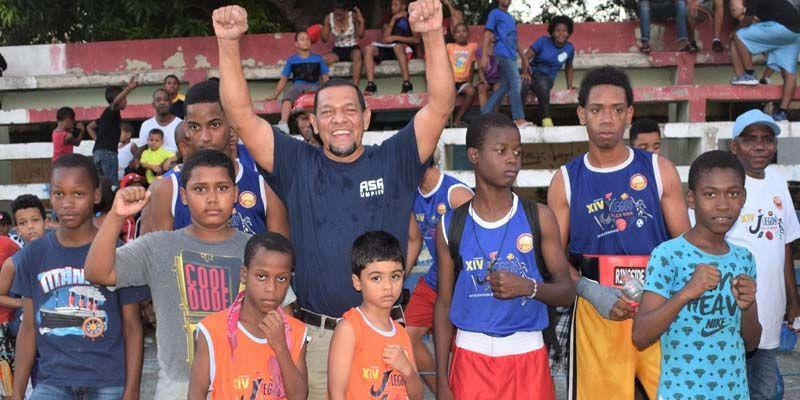 Photo of Club Voluntad campeón del Torneo de Boxeo Juegos de Los Mina