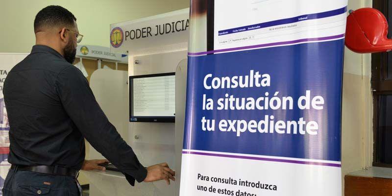 Se busca digitalizar todos los procesos justiciales.