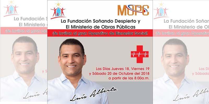 Photo of Diputado Luis Alberto invita a participar en los operativos de bienestar social