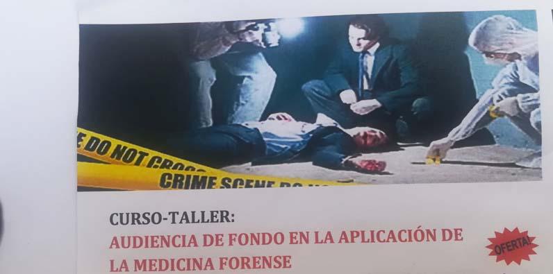 Photo of Impartirán en la UAPA curso-taller sobre Medicina Forense en Juicios de Fondo