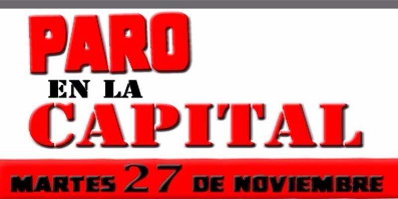 Photo of Promueven en las redes un paro en la capital el 27 de noviembre