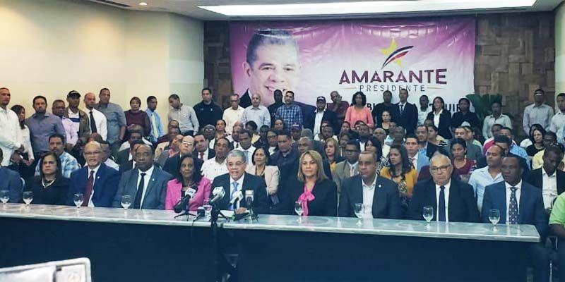 Photo of Amarante demanda que Leonel tome licencia como presidente del PLD