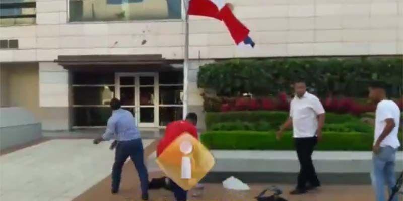 Photo of Edificio de la Suprema Corte de Justicia bajo ataque con excrementos humanos en el Día del Poder Judicial
