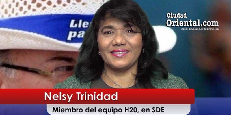Photo of En visita a Ciudad Oriental Nelsy Trinidad define a quién respaldará en las primarias del PRM